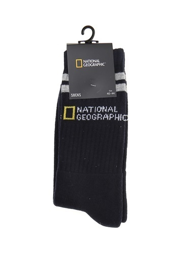 National Geographic Çorap Lacivert